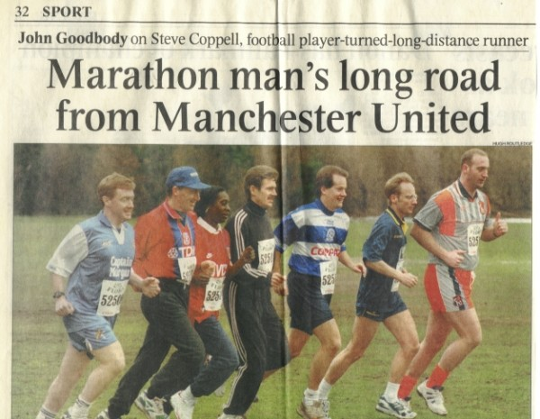The London Marathon – When I became a QPR fan