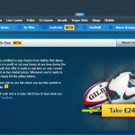 Betfair add Sportsbook cash out facility