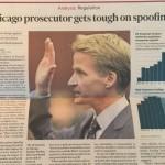 Regulator gets tough on Spoofing