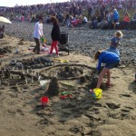 Laytown races – Laying on the beach