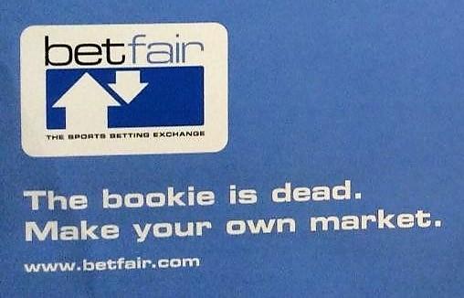 Betfair launch - The bookie is dead