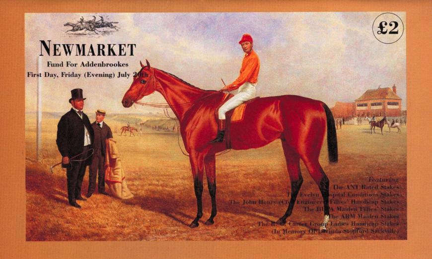 Newmarket racecard